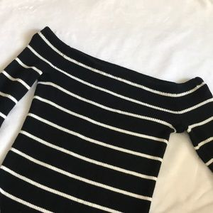 American Eagle outfitters off the shoulder top